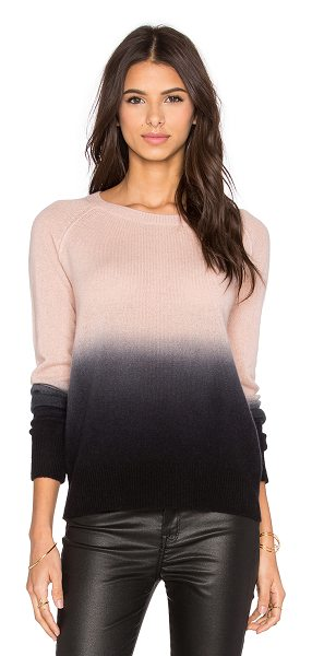 360Sweater Spring crew neck sweater in blush - 100% cashmere. Dry clean only. 360S-WK346. 28133....