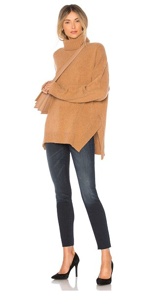 360Cashmere Amara Sweater in brown - 100% cashmere. Dry clean only. Knit fabric. Rib knit...