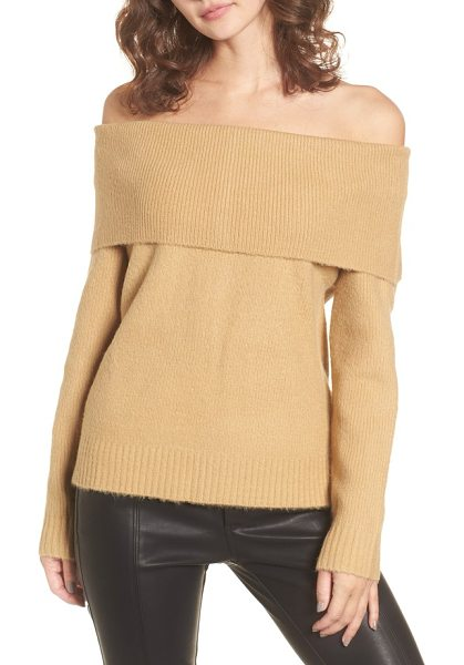 4SI3NNA off the shoulder sweater - A shoulder-baring neckline and supersoft fabric make...