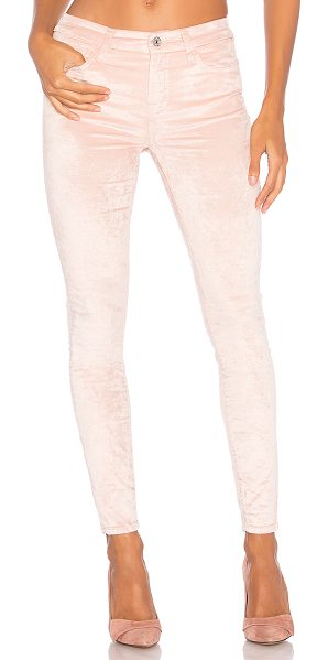 "7 For All Mankind Ankle Skinny in blush - ""58% cotton 40% viscose 2% spandex. Front and back..."