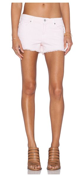 "7 FOR ALL MANKIND Cut off short - 97% cotton 3% spandex. Shorts measure approx 10"""" in..."