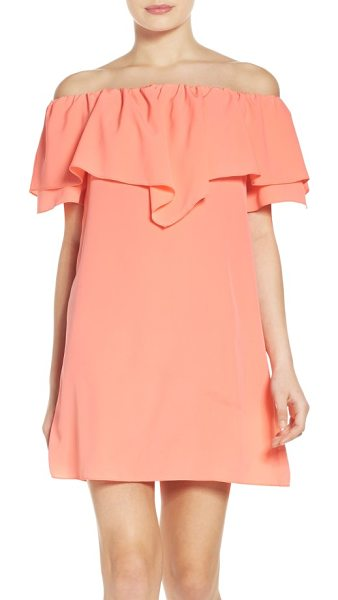 A by Amanda birch shift dress in neon ballet - Billowy layers make a romantic statement that works for...
