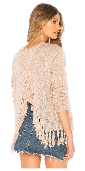 About Us tonie sweater top in mauve