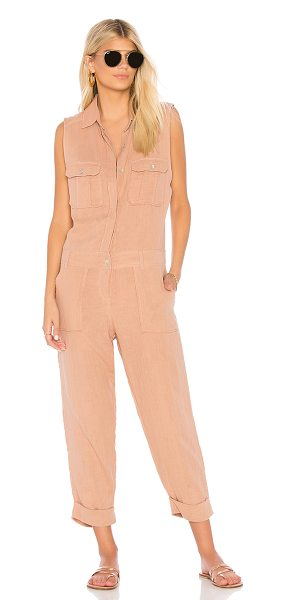 Acacia Swimwear hollywood jumpsuit in barefoot - Acacia Swimwear Hollywood Jumpsuit in Nude. - size XS...
