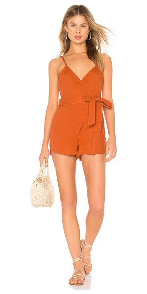 Acacia Swimwear ns romper in apricot
