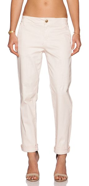 "a.c.e. A.c.e elle bf trouser in blush - 98% cotton 2% spandex. 16"""" in the knee narrows to 12""""..."