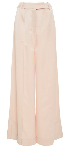ACLER Harrow Wide Leg Pant in neutral - This *Acler* Harrow Wide Leg Pant features a loose...