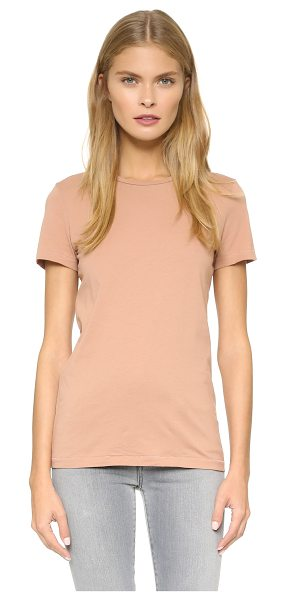 Acne Studios Bliss c base tee in dusty pink - A simple cotton Acne Studios tee with a luxe hand. Crew...