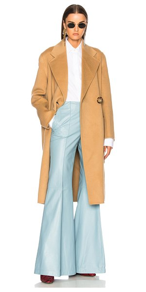 ACNE STUDIOS Carice Double Coat - 85% wool 15% cashmere.  Made in Korea.  Dry clean only. ...
