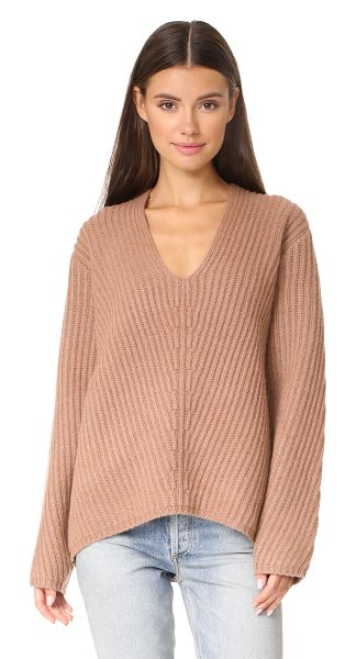 ACNE STUDIOS deborah l sweater - A substantial Acne Studios sweater with chunky ribs and...