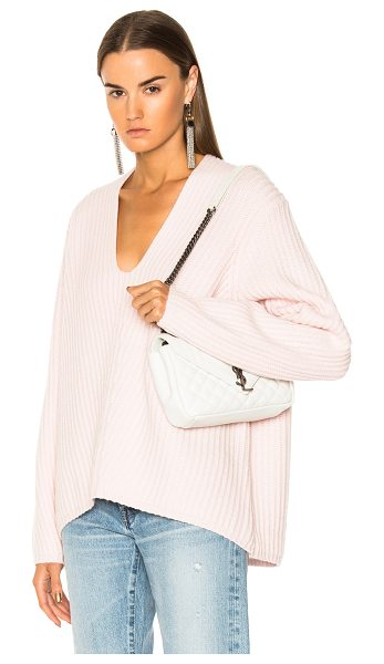 Acne Studios Deborah Sweater in pink