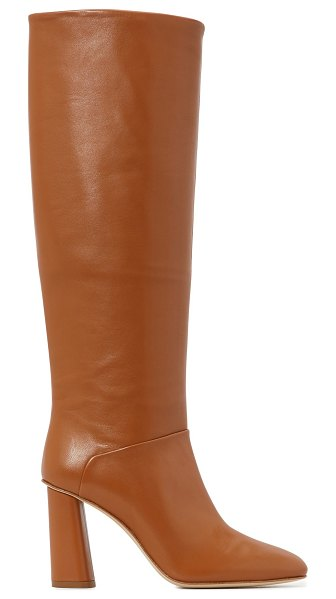 Acne Studios High-heeled boots in caramel brown