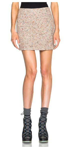 Acne Studios Kyte trash skirt in neutrals - 55% virgin wool 25% polyamide 20% silk.  Made in...