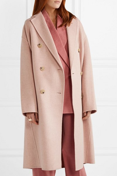 Acne Studios odethe oversized wool and cashmere-blend coat in pastel pink - While much of his fellow Scandinavian compatriots in the...