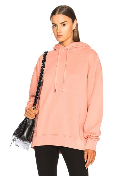 ACNE STUDIOS Yala Hooded Sweatshirt - Self: 100% cotton - Contrast Fabric: 88% cotton 12% poly...