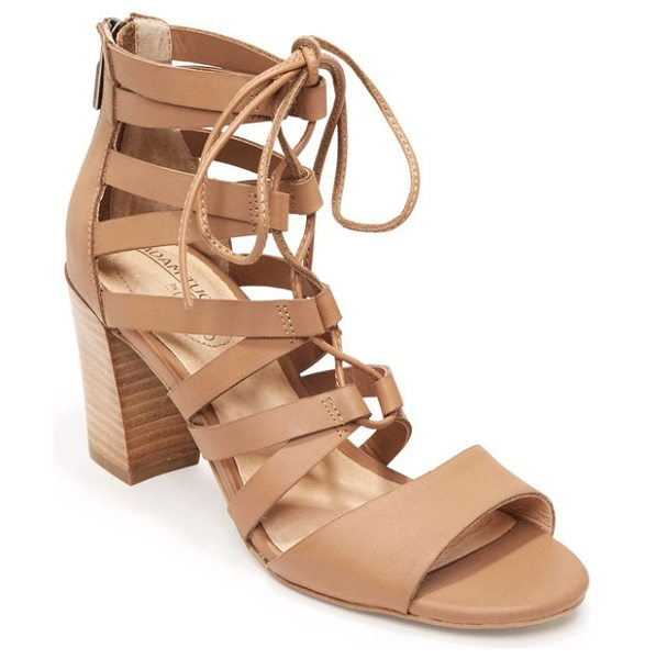 ADAM TUCKER BY ME TOO adam tucker manda ghillie sandal - Sinuous arched straps connect with ghillie-style lacing...