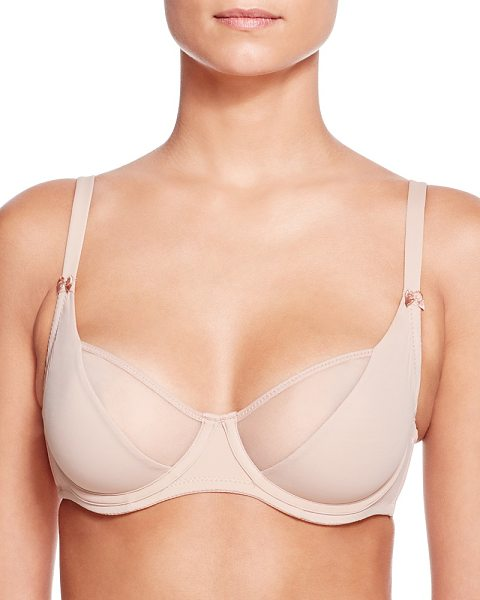 Addiction Nouvelle Lingerie Basic Full Unlined Underwire Bra in nude - Addiction Basic Full Unlined Underwire Bra-Women
