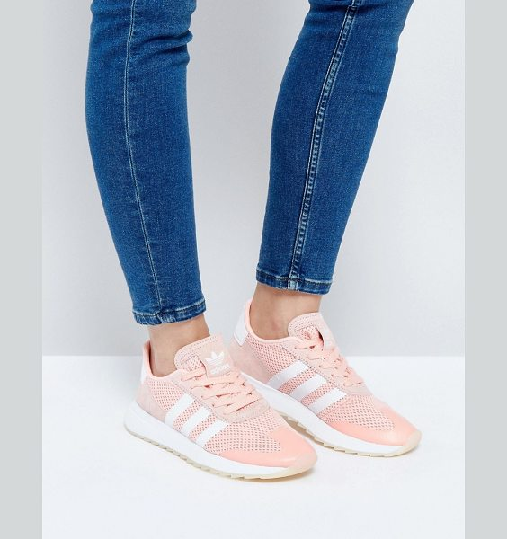 ADIDAS Coral Flb Racer Sneakers - Sneakers by Adidas, Breathable mesh upper, Textile...