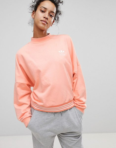 ADIDAS X Pharrell Williams Hu Coral Sweatshirt - Sweatshirt by adidas, Designed in collaboration with...