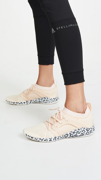 Adidas By Stella McCartney crazytrain pro s. sneakers in soft apricot