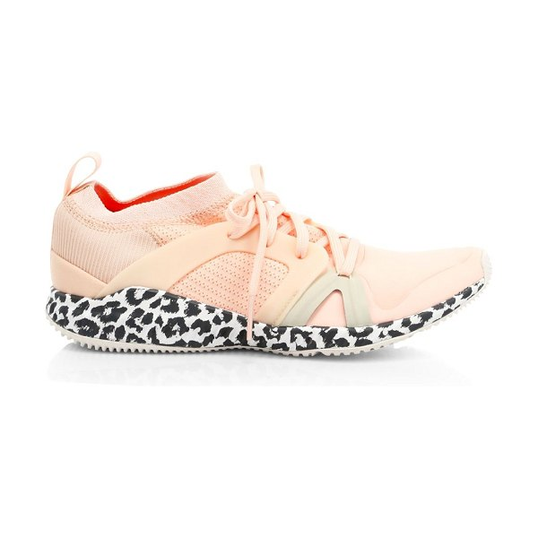Adidas By Stella McCartney crazytrain pro sneakers in peach