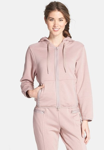 ADIDAS BY STELLA MCCARTNEY ess french terry hoodie - Tonal matte trim and a color-tipped elastic back hem...