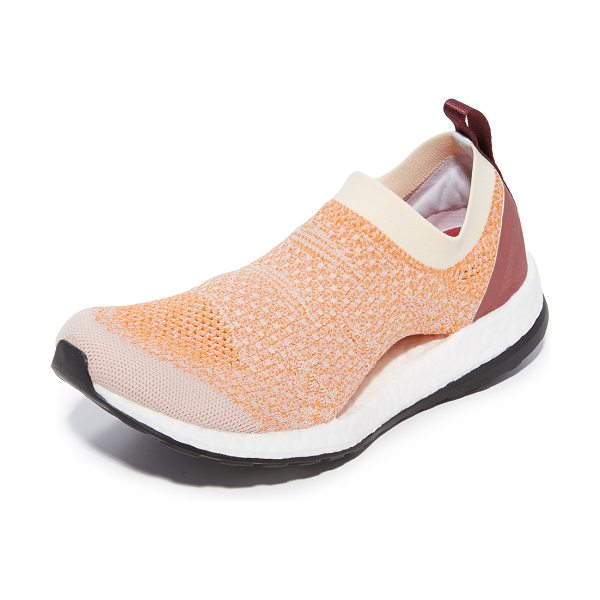 Adidas By Stella McCartney pureboost x sneakers in pearl rose/lucky orange/chalk - Flexible, lightweight adidas by Stella McCartney...