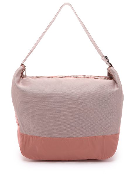 Adidas By Stella McCartney Rtd bag in smoke pink/ash pink - An adidas by Stella McCartney tote, accented with a...
