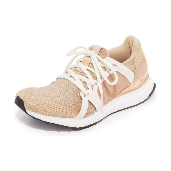 Adidas By Stella McCartney Ultra boost sneakers in copper met/white chalk - These adidas by Stella McCartney sneakers are made with...