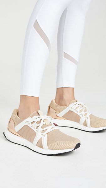 Adidas By Stella McCartney ultraboost s. sneakers in future met/copper met/clay red