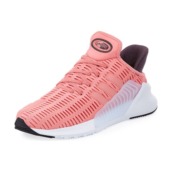 Adidas Climacool Mesh-Knit Sneaker in tactile rose(pink - Adidas mesh-knit fabric sneaker with rubber and nubuck...