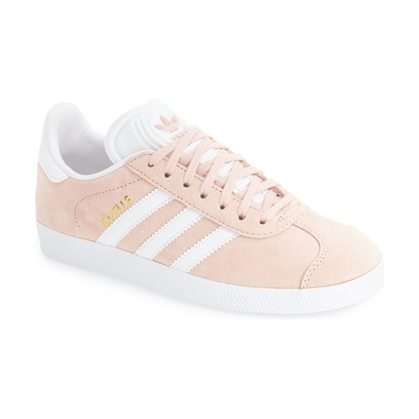 Adidas gazelle sneaker in vapor pink - Initially designed as a training shoe for top athletes...