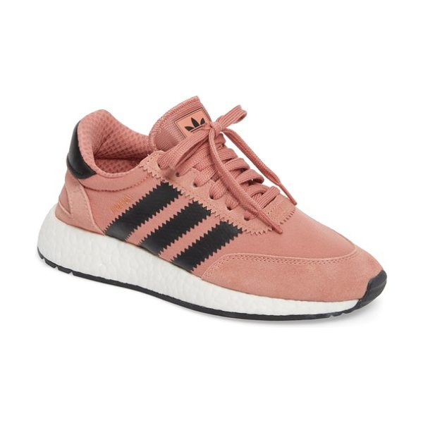 Adidas i-5923 sneaker in raw pink/ core black/ white - Archival style meets modern comfort technology in this...