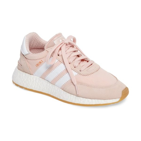 ADIDAS i-5923 sneaker in pink/ white/ gum - Archival style meets modern comfort technology in this...
