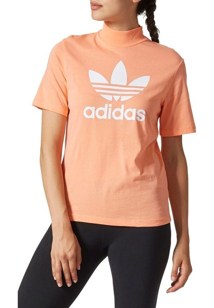 Adidas originals by pharrell williams hu hiking logo tee in chalk coral - LA's local trail culture inspired Pharrell Williams to...