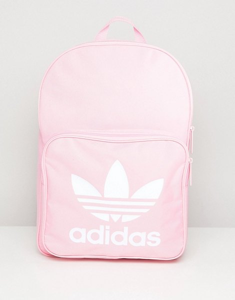 Adidas Originals classic backpack in pink in pink