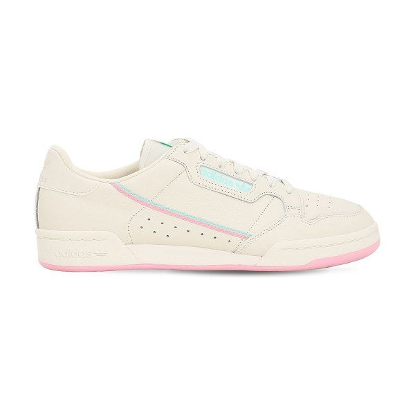 Adidas Originals Continental sneakers in white,pink