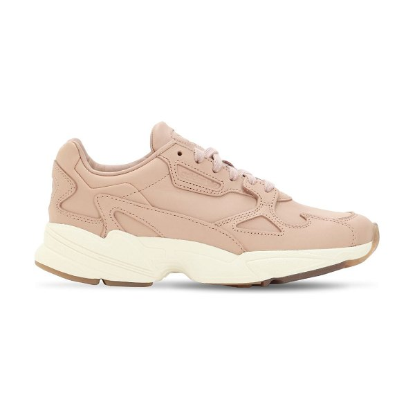 Adidas Originals Falcon suede sneakers in pink