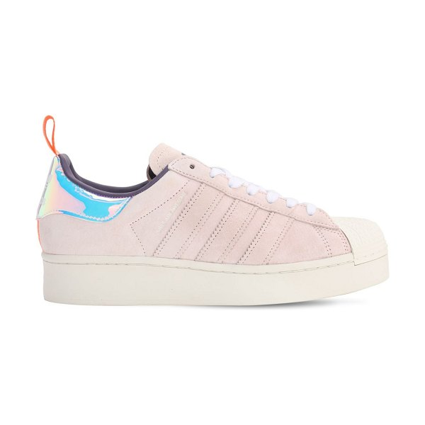 Adidas Originals Girls are awesome sneakers in pink,grey