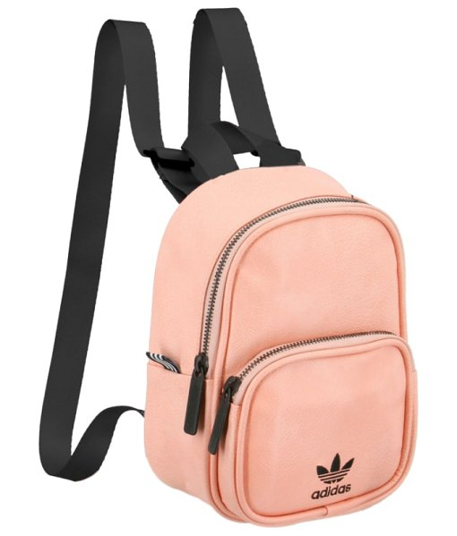 Adidas Originals mini backpack in pink - Small but mighty, this mini bag packs a lot of attitude...
