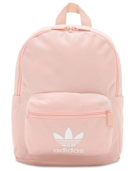 Adidas Originals Small adicolor classic backpack in vapour pink