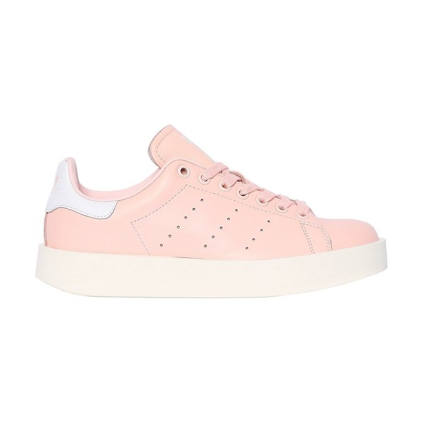 Adidas Originals Stan smith bold leather sneakers in pink