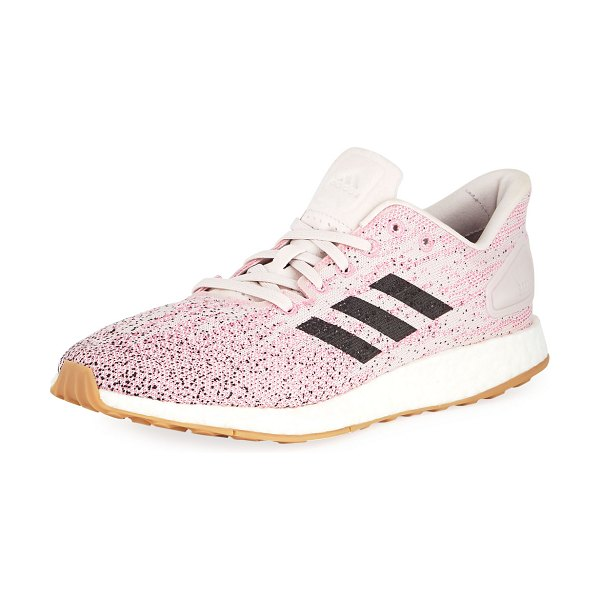 Adidas PureBOOST DPR Knit Trainer Sneakers in pink/carcon orchi