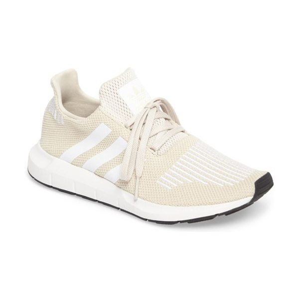 Adidas swift run sneaker in clear brown/ white - A sleek new silhouette inspired by running shoes in the...