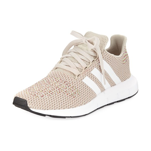 Adidas Swift Run Trainer Sneakers in clear brown/white - adidas trainer sneaker in ripstop mesh with signature...