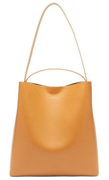 AESTHER EKME sac leather tote bag in tan