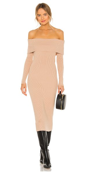 AFRM eloise sweater dress in sand
