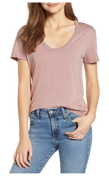 AG Adriano Goldschmied henson tee in pink