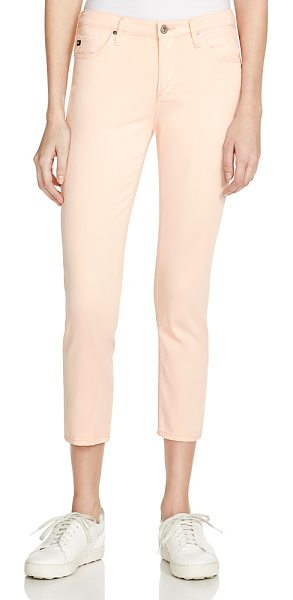 AG Adriano Goldschmied Prima Crop Jeans in Fresh Peach - 100% Exclusive in fresh peach - Ag Prima Crop Jeans in Fresh Peach - 100% Exclusive-Women
