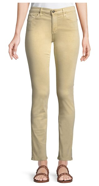 "AG Adriano Goldschmied Prima Mid-Rise Cigarette Jeans in khaki - AG Adriano Goldschmied ""Prima"" jeans in stretch twill...."